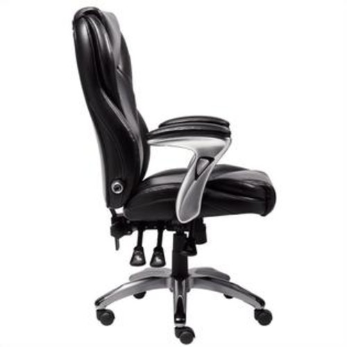 Serta Ergo-Executive Office Chair in Black Bonded Leather