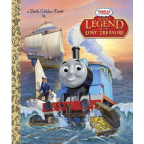 Sodor's Legend of the Lost Treasure (Thomas & Friends Little Golden Book Series)