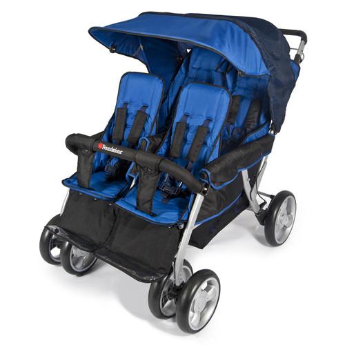 Foundations Quad LX 4-Passenger Stroller Regatta