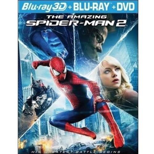 The Amazing Spider-Man 2 (Blu-ray + Blu-ray + DVD)