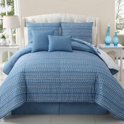 Victoria Classics Ellory 5 Piece Reversible Comforter Set