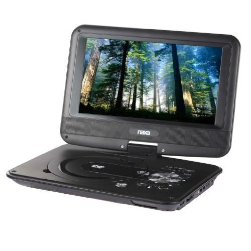 NAXA Electronics NPD-952 9-Inch TFT LCD Swivel Screen Portable DVD Player with USB/SD/MMC Inputs: Electronics