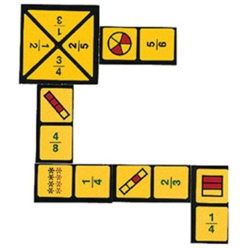 WCA The Original Fraction Dominoes Game, Grades 4th+