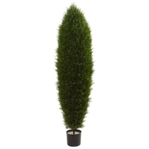 Nearly Natural Cypress Tree in Pot