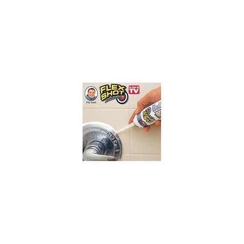Flex Seal Flex Shot - Thick Rubber Adhesive Sealant (Jumbo, White)