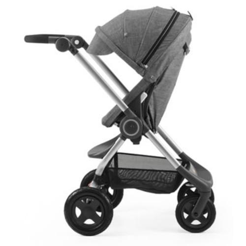 Stokke Scoot 2017 Complete Stroller in Black Melange