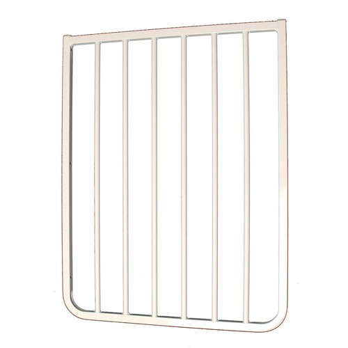 Cardinal Gates 30 in. H x 21.75 in. W x 2 in. D Extension for Stairway Special or Auto Lock Gate White
