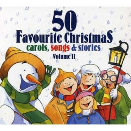 50 Favourite Christmas Carols, Songs & Stories By Various Artists (Audio CD)