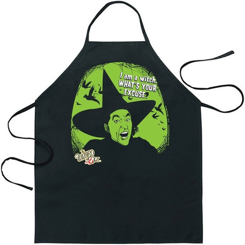 Wizard of Oz I Am A Witch Apron - Multi