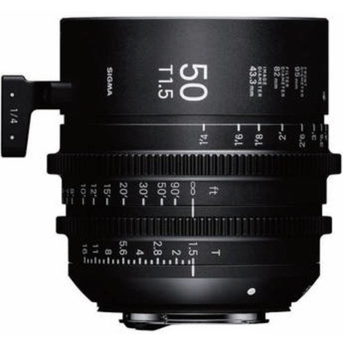50mm T1.5 FF High-Speed Prime (EF Mount)