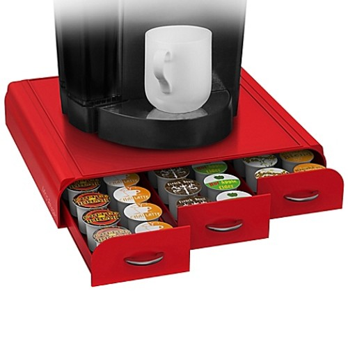 Mind Reader Anchor 36 K-Cup Capacity Drawer in Red