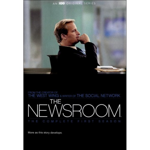 The Newsroom: The Complete First Season [4 Discs] [DVD]