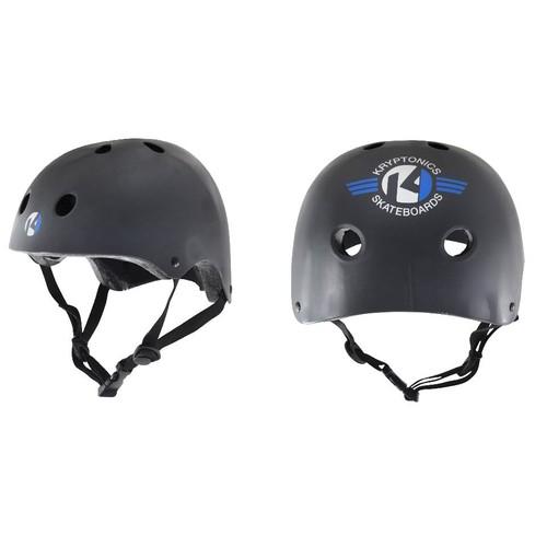 Kryptonics Starter Helmet - Black - Small/Medium