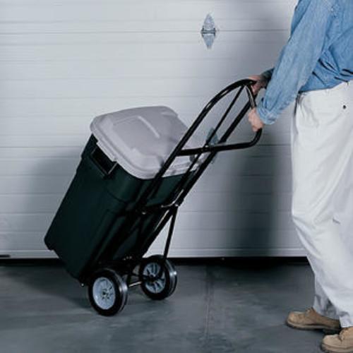 Safco Economy Office Folding Wheeled Luggage Storage P-Handle Steel Hand Truck Cart