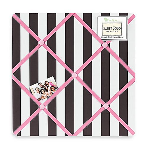 Sweet Jojo Designs Paris Fabric Memo Board