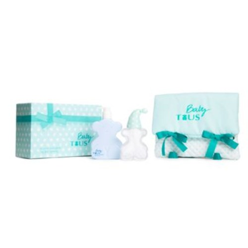 Tous Baby My First Pajama Bag Gift Set in Aqua