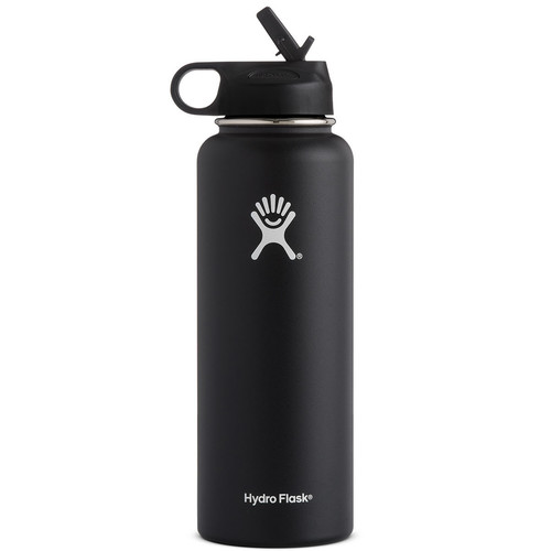 HYDRO FLASK 40 OZ Wide Mouth with Straw Lid