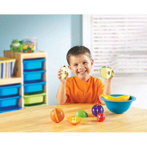 Learning Resources Smart Snacks 16 Piece Counting Fruit Bowl Set