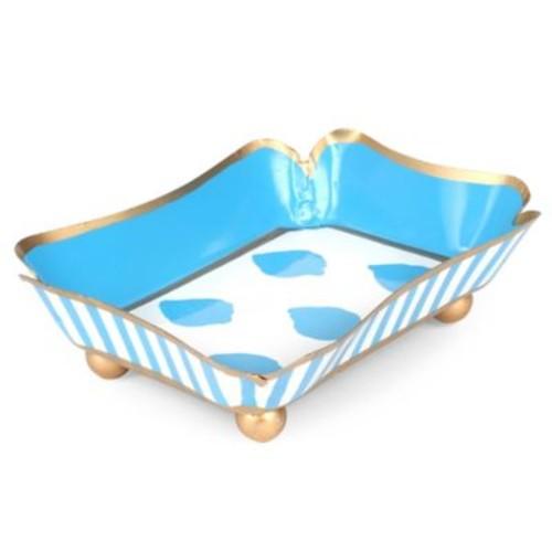 Jayes Studio Castillo Trinket Tray in Blue