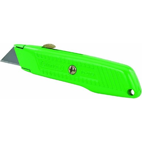 Stanley High Visibility Retractable Utility Knife - 10-179