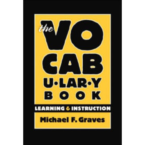 The Vocabulary Book: Learning and Instruction / Edition 1