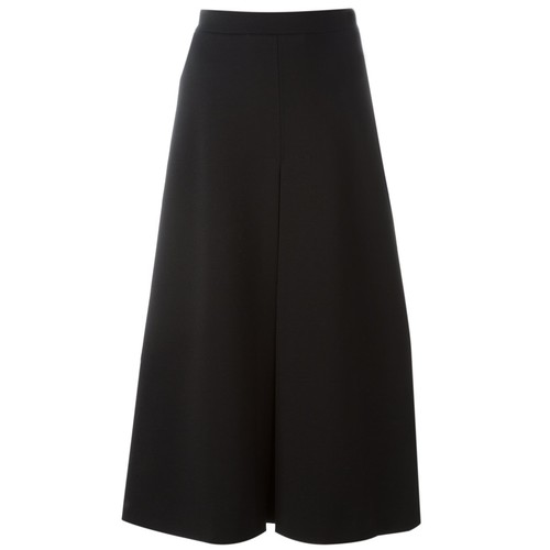 SAINT LAURENT Front Pleat Skirt