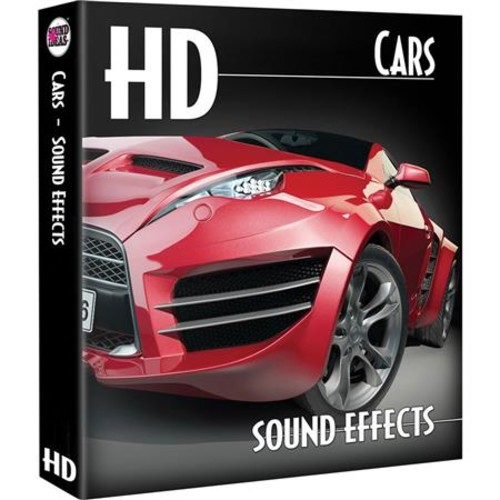 Sound Ideas HD-Cars Sound Effects Library on Hard Drive - Mac SI-G-CARS