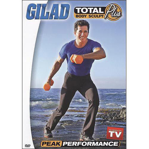 Gilad: Total Body Sculpt Plus - Peak Performance [DVD] [English] [2009]