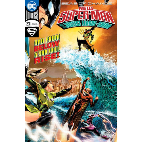 Super-Man and the Justice League of China (2016-) #23