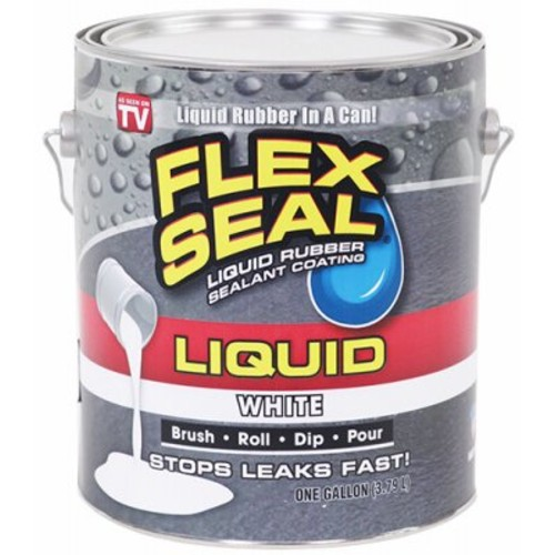 SWIFT RESPONSE LFSWHTR01 Gallon Flex Seal Liquid, White