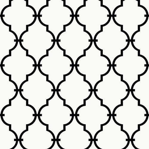 RoomMates Modern Trellis Peel and Stick Wall Dcor Wallpaper