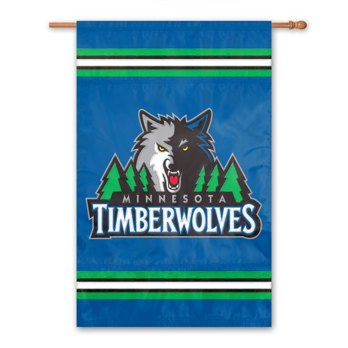 Minnesota Timberwolves 2-Sided Banner