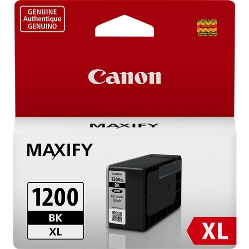 Canon - PGI-1200 XL High-Yield Ink Cartridge - Black