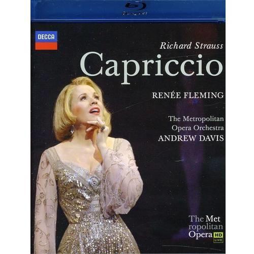 R. Strauss: Capriccio [DVD/Blu-Ray] [Blu-Ray Disc]