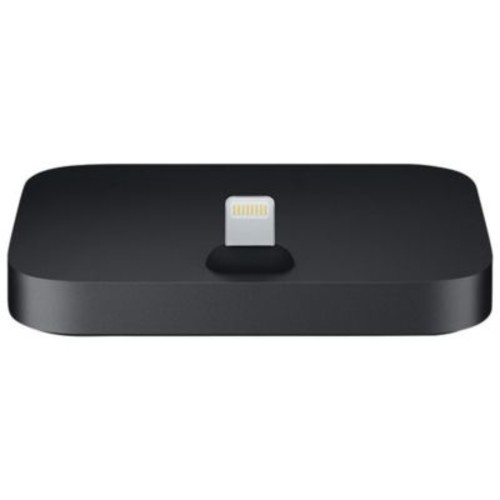 Apple Male/Female Lightning Dock for iPhone/iPod, Black (MNN62AM/A)