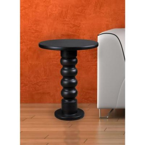 Kenroy Home Chimney Satin Bronze End Table