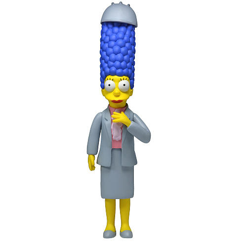 Simpsons 25th Anniversary - 5 Inch Figure - Series 4 - Marge Simpson (Working Woman Marge)