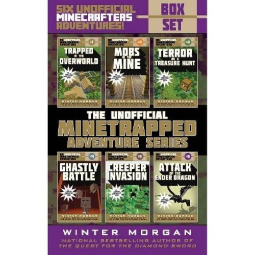 Unofficial Minetrapped Adventure Series Box Set : Six Unofficial Minecrafters Adventures! (Paperback)