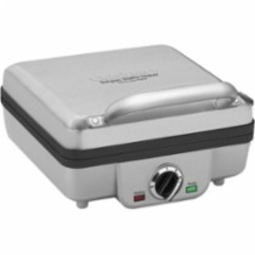 Cuisinart - Belgian Waffle Maker with Pancake Plates - Silver