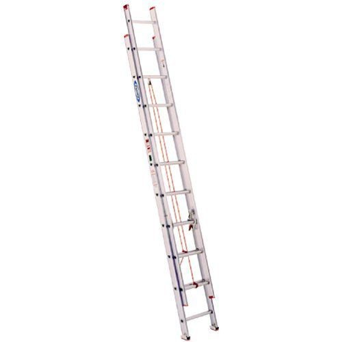Werner 20 ft. Flat D-Rung Extension Ladder
