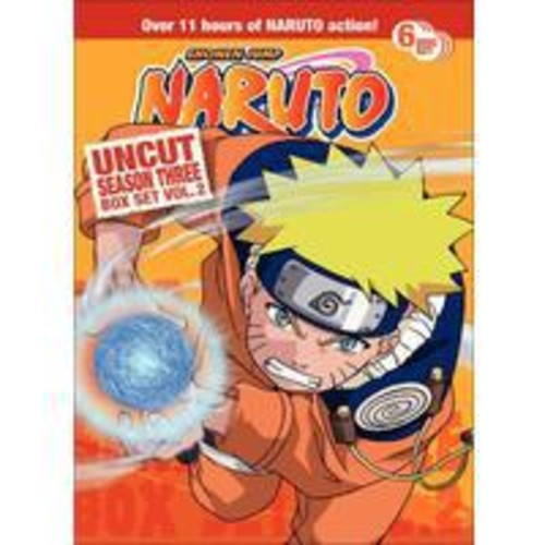 Naruto Uncut Box Set: Season 3, Vol. 2 [6 Discs]