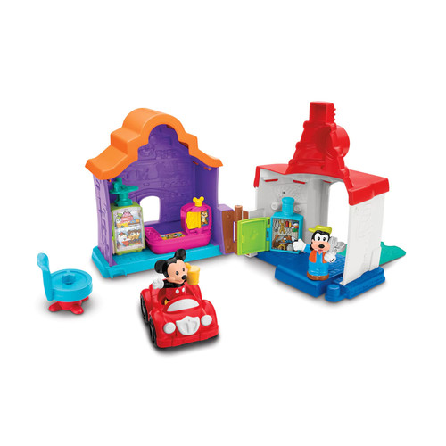 Disney's Magic of Disney Mickey & Goofy's Gas and Dine Playset by Little People