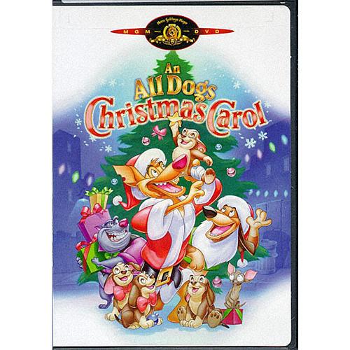 An All Dogs Christmas Carol DVD