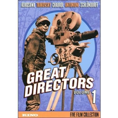 Great Directors - Volume 1: (Dersu Uzala / The Mirror / Les Bonnes Femmes / Il Grido / Circle of Deceit)