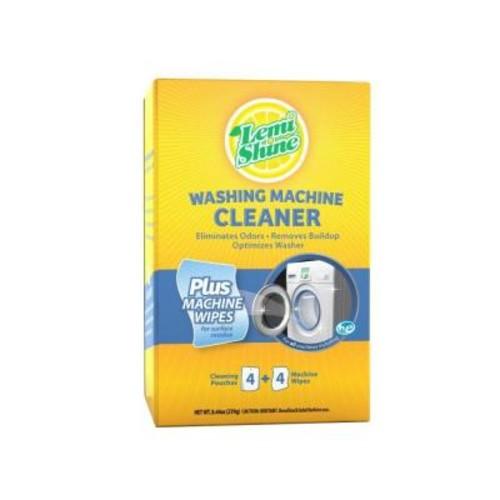 Lemi Shine 8.44 oz. Washing Machine Cleaner with Wipes (6-Case)