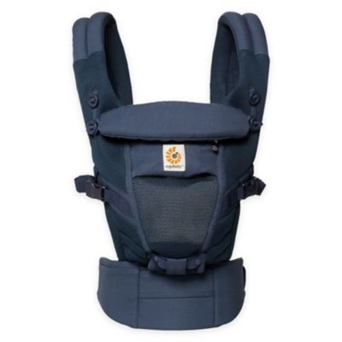 Ergobaby Adapt Cool Air Mesh Newborn to Toddler Baby Carrier in Deep Blue