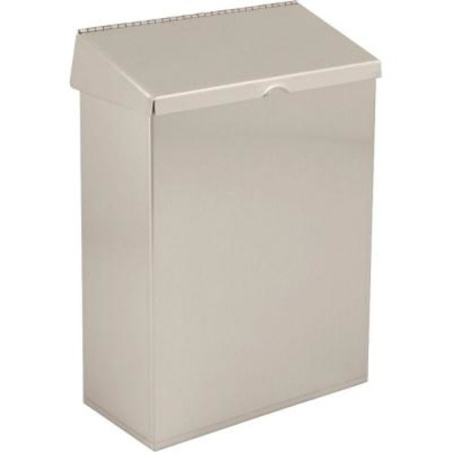 Delta Sanitary Napkin Receptacle in Stainless