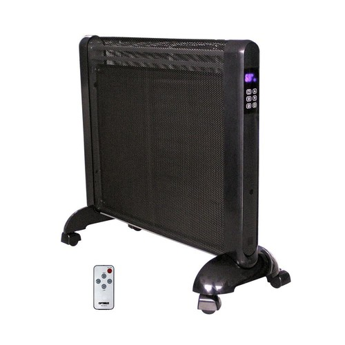 Optimus 97078931M Micathermic Flat-Panel Heater with Remote Control