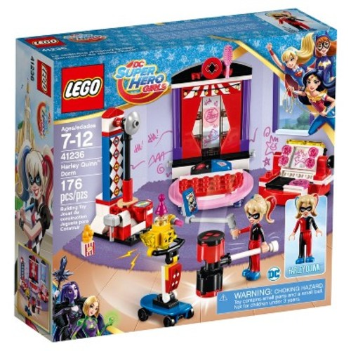 LEGO DC Comics Super Hero Girls Harley Quinn Dorm 41236