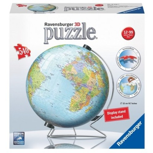 Ravensburger The Earth Puzzle Ball 3D Jigsaw Puzzle - 540-piece